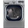 LG 7.4-cu ft Stackable Electric Dryer with Steam Cycles (Graphite Steel) ENERGY STAR
