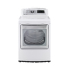 LG Easyload 7.3-cu ft Gas Dryer with Steam Cycles (White) ENERGY STAR
