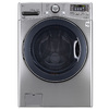LG 4.5-cu ft High-Efficiency Stackable Front-Load Washer (Graphite Steel) ENERGY STAR