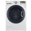 LG 4.5-cu ft High-Efficiency Stackable Front-Load Washer (White) ENERGY STAR
