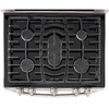 LG 30-in 5-Burner 3.9-cu ft/2.2-cu ft Self-Cleaning Double Oven Gas Range (Stainless Steel)