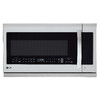LG 2.2-cu ft Over-The-Range Microwave with Sensor Cooking Controls (Stainless Steel) (Common: 30-in; Actual: 29.86-in)