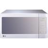 LG 1.4-cu ft 1,100-Watt Countertop Microwave (Smooth White)