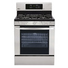 LG 5-Burner Freestanding 5.4-cu ft Convection Gas Range (Stainless Steel) (Common: 30-in; Actual: 29.9375-in)