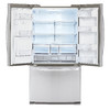 LG 19-cu ft Counter-Depth French Door Refrigerator with Single Ice Maker (Stainless Steel) ENERGY STAR