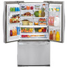 LG 26.8-cu ft French Door Refrigerator with Single Ice Maker (Stainless Steel) ENERGY STAR