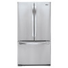 LG 27.7-cu ft French Door Refrigerator with Single Ice Maker (Stainless Steel) ENERGY STAR