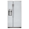 LG 22.1-cu ft Side-by-Side Refrigerator Single Ice Maker (Stainless Steel) ENERGY STAR