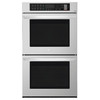 LG Self-Cleaning Convection Double Electric Wall Oven (Stainless Steel) (Common: 30-in; Actual: 29.75-in)