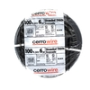 Cerro Wire 100-ft 6 AWG Stranded Black THHN Wire