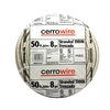 Cerro Wire 50-ft 8 AWG Stranded White THHN Wire