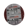 Cerro Wire 50-ft 8 AWG Stranded Red THHN Wire