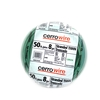 Cerro Wire 50-ft 8 AWG Stranded Green THHN Wire