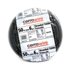 Cerro Wire 50-ft 6 AWG Stranded Black THHN Wire