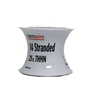 Cerro Wire 25-ft 14 AWG Stranded White THHN Wire