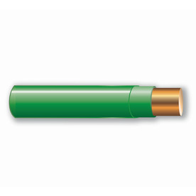 Cerro Wire 50-ft 12 AWG Solid Green THHN Wire
