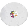6-in White Plastic Plant Saucer