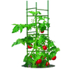 Gardener's Blue Ribbon 60-in Powder-Coated Galvanized Steel Wire Triangular Tomato Cage