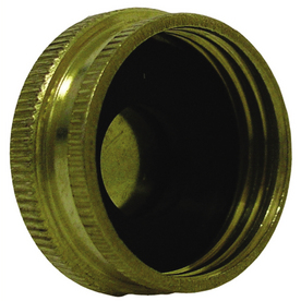 Watts 3/4-in Brass Garden Hose Cap