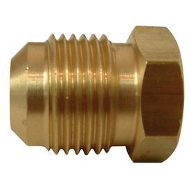 Watts 1/4-in Plug Flare Fitting