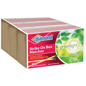 Diamond 3-Pack Safety Kitchen Matches