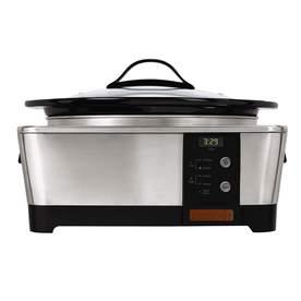Crock-Pot 6-Quart Stainless Steel Oval Slow Cooker