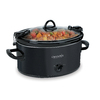 Crock-Pot Cook & Carry 6-Quart Black Oval Slow Cooker