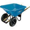 JACKSON 8 cu ft Poly Wheelbarrow
