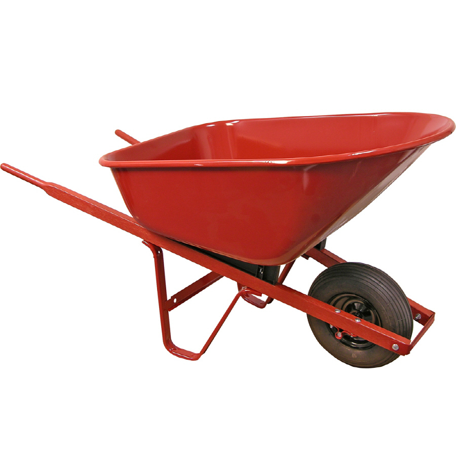 Shop True Temper 6 cu Ft Steel Wheelbarrow At Lowescom