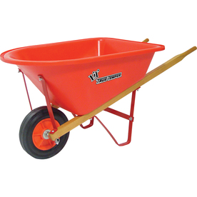 True Temper 1.25-cu ft Wheelbarrow