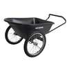 True Temper 6 Cu. Ft. Plastic Yard Cart