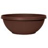 Dynamic Design 7.1-in H x 18-in W x 18-in D Chocolate Indoor/Outdoor Planter
