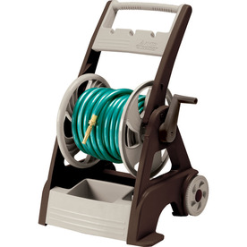 NeverLeak by Ames Plastic 250-ft Cart Hose Reel