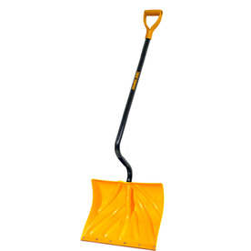 Snow Removal & Prep Snow Shovels True Temper 18-in Poly Snow Shovel ...