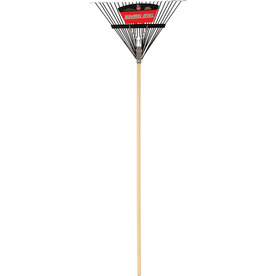 True Temper 24-in Leaf Rake