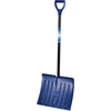 Ames True Temper 18-in Aluminum Snow Shovel with 36-in Steel Handle