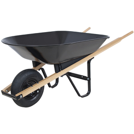 Blue Hawk 4 cu ft Steel Wheelbarrow