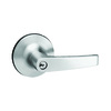 Yale Security 5300Ln Monroe Traditional Satin Chrome Universal Keyed Entry Door Lever