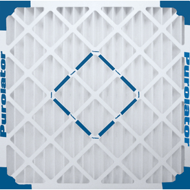 Purolator Hi-E 40 Pleated Air Filter (Common: 18-in x 22-in x 1-in)