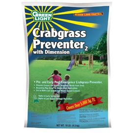 Green Light Crabgrass Preventer with Dimension