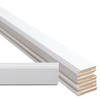 EverTrue 8-Piece 9/16-in x 3-1/4-in x 16-ft Primed Radiata Pine Base Moulding Contractor Pack (Pattern 623)