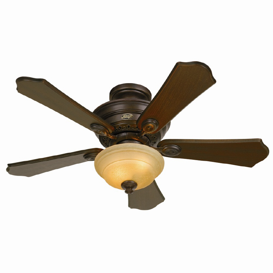 shop hunter 44 in multi position ceiling fan with light. Black Bedroom Furniture Sets. Home Design Ideas