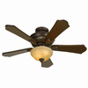 Hunter 44-in Baker Street Ceiling Fan with Light Kit