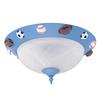 Hunter 2-Light Blue Candelabra Base Torpedo Shaped Incandescent Ceiling Fan Light Kit