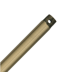 Hunter 12-in Antique Brass Steel Ceiling Fan Downrod