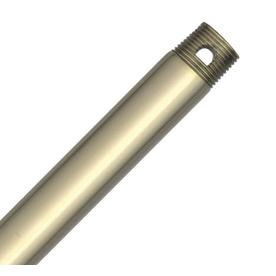 Hunter 18-in Bright Brass Steel Ceiling Fan Downrod