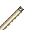 Hunter 60-in Bright Brass Steel Ceiling Fan Downrod