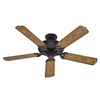 Hunter 52-in Sea Air Weathered Bronze Outdoor Ceiling Fan ENERGY STAR