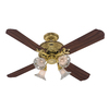 Lighting  Fans - Fans - Ceiling Fans - Hunter - Brass and Gold