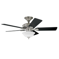 5 Minute Fan Brushed Nickel :  home ceiling fan